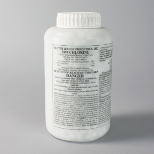 Better Water Chlorine Tablets,<br> Case of Nine 3.5 lb Bottles