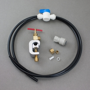 "Saddle Valve Inlet Kit, 1/4"" Tubing"