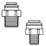 John Guest Threaded Reducers / Expanders
