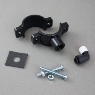 """Drain Saddle with 1/4"""" Quick Connect Elbow"""