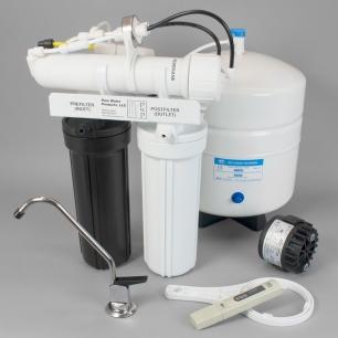 Black & White Reverse Osmosis Unit<br> with Aquatec Permeate Pump