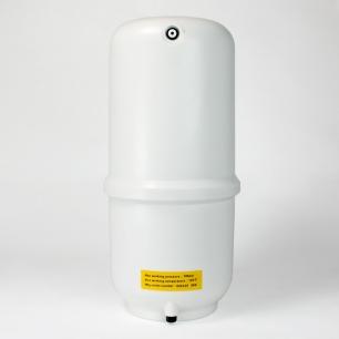 "Flomatic RO Tank White Plastic - 8.5"" Diameter X 20"" Height"