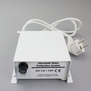 Power Control Box and Ballast (220 volt) for Pura UVB & UV20 Units