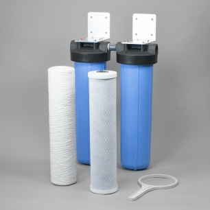 Compact Whole House Sediment / Carbon Block filter