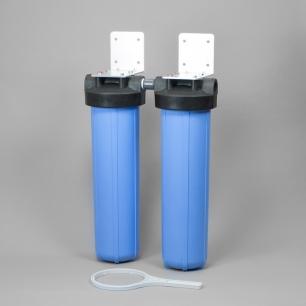 Compact Whole House Sediment Carbon Block Filter Pure