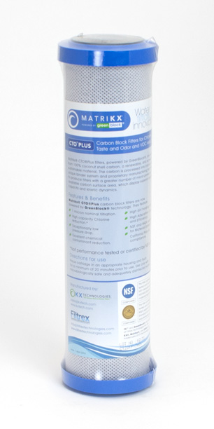"MatriKX CTO Plus (2.5"" x 9.75"" Filter Cartridge)"