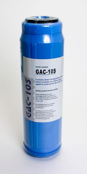 Silver Impregnated<br> Granular Carbon Cartridge