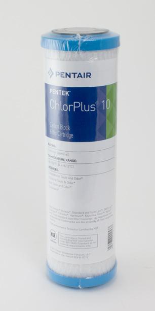 Pentek ChlorPlus 10<br> Chloramine Reduction Cartridge
