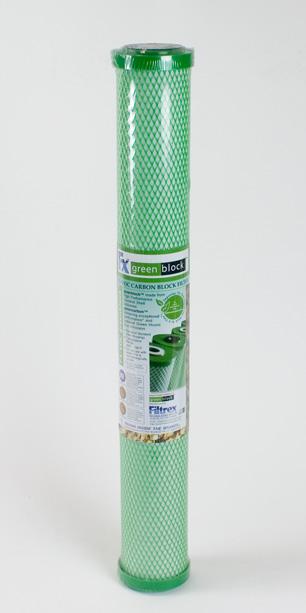 Filtrex Greenblock™ <br> Coconut Shell Carbon Block Filter