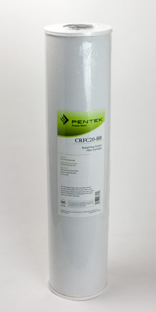 Pentek CRFC20-BB <br>  Chloramine Reduction <br> Radial Flow Carbon Cartridge