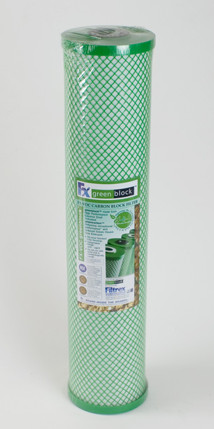 Filtrex FX-VOC<br> Greenblock Carbon Block Filter