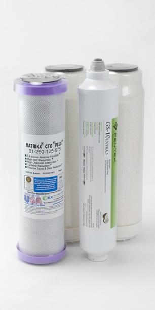 Fluoride Filter Cartridge Pack