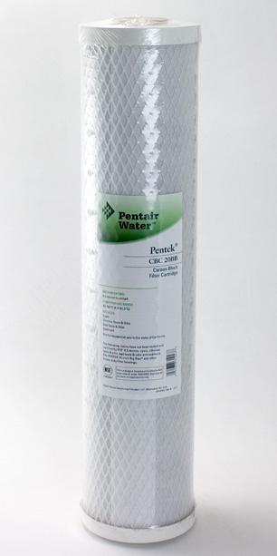 Pentek 0.5 Micron <br>CTO Carbon Block