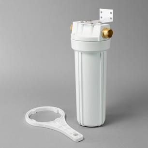 White Garden Hose Filter