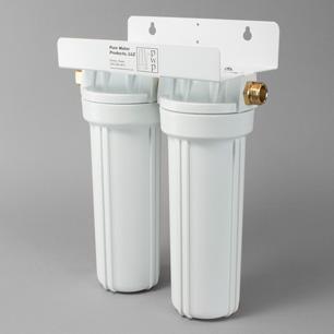Double Garden Hose Filter