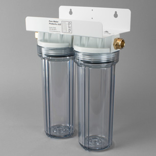 Double Clear Garden Hose Filter