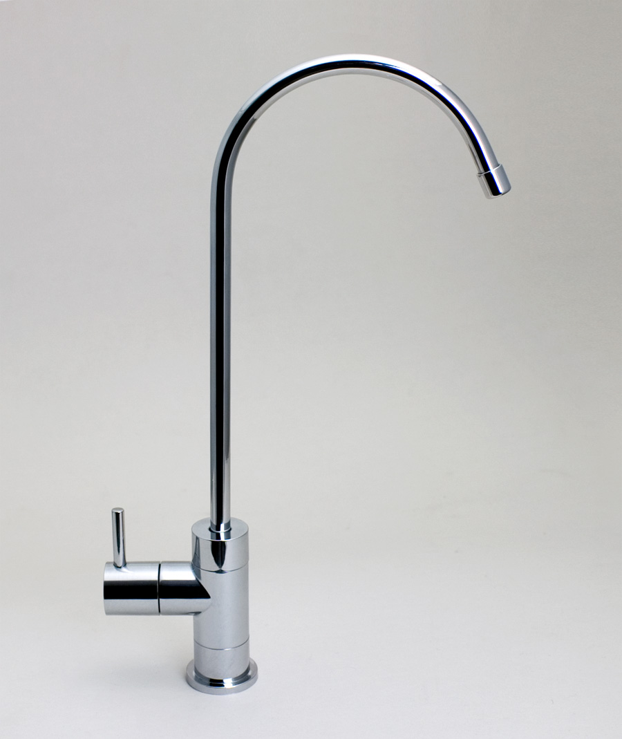 Filtered Water Dispenser Faucet.  Ledge Faucets Pure Water Products LLC