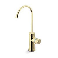 Tomlinson Contemporary Faucet, <strong>Polished Brass</strong>