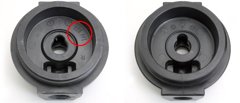 A comparison of UVB/UV20 caps.