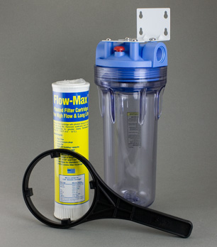 Light Duty Clear Whole House Sediment Filter Pure